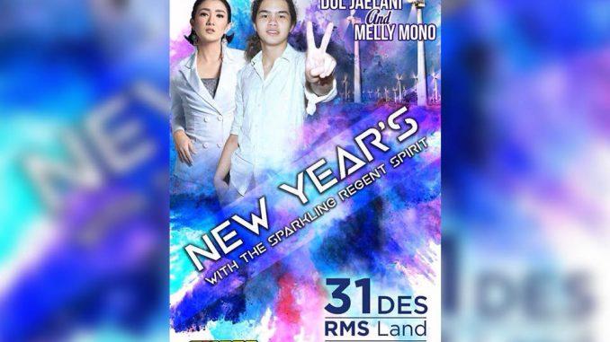 Puncak malam pergantian tahun, Minggu malam (31/12/2017) dipusatkan di Sirkuit RMS Land, Rappang Sidrap.
