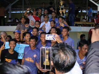 Barru Putra Fc akhirnya tampil sebagai juara Bupati Cup 2017, setelah pada laga final mengalahkan Ps Pelahi Putra lewat drama adu penalty dengan skor 5-4, setelah bermain imbang 2-2 sampai waktu normal.