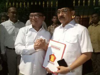 Tak ada yang abadi di politik. Partai Gerindra secara resmi mengalihkan dukungan dari pasangan Nurdin Abdullah-Andi Sudirman Sulaiman (NA-ASS) dan memberikannya ke pasangan Agus Arifin Nu'mang-Tanribali Lamo. Surat dukungan partai besutan Prabowo Subianto itu tertuang dalam surat berformat B.1-KWK yang ditandatangani langsung mantan Danjen Kopassus tersebut