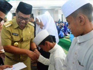 Maulid Nabi Muhammad SAW di masjid Al Munawwir