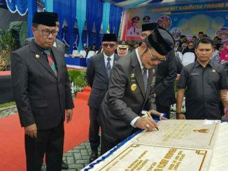 SYL resmikan proyek pad Hut Pinrang ke 58