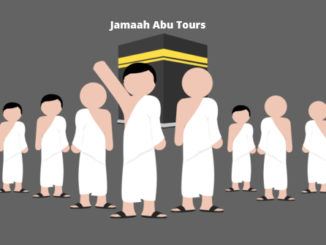 Ilustrasi jamaah Abu Tours
