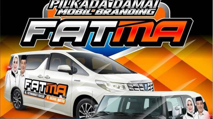 Mobil branding FATMA