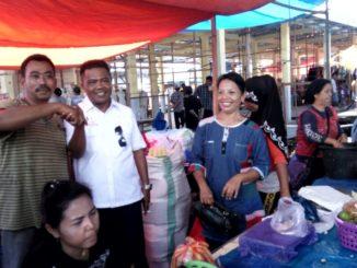 Pedagang Pasar Teppo Pinrang