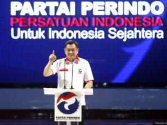 Ketua Perindo Hary Tanoesoedibjo