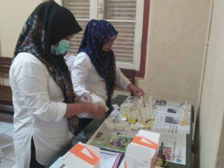 Pemeriksaan urine oleh BNN Sulsel