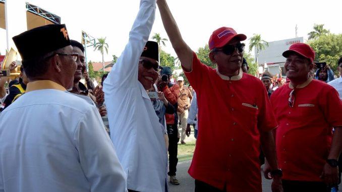 Dua paslon Wali Kota Parepare