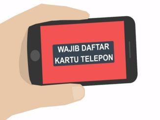 Ilustrasi Kominfo registrasi SIM card