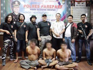 Tiga pelaku pengeroyokan diamankan Polisi