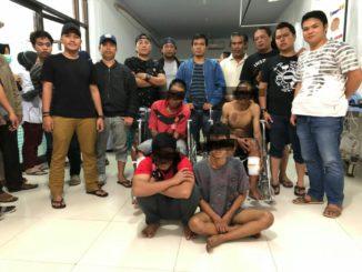 Jatanras Polrestabes Makassar menangkap empat pelaku curanmor di wilayah Makassar.