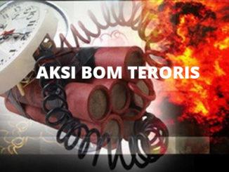 Ilustrasi bom teroris