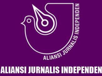 Logo Aliansi Jurnalis Independen (AJI).
