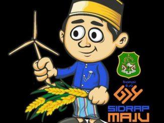Ilustrasi sidrap Maju