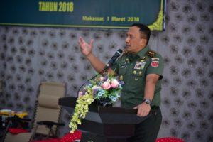 Pangdam XIV Hasanuddin, Mayjen Agus SB