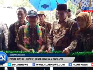 Dirjen Kementerian PDTT Resmikan Proyek Rice Milling Di Barru