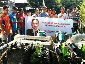 traktor dan pompa air