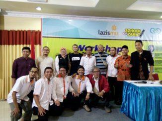 Amil Lazismu Parepare ikut serta pada kegiatan School of Zakat Nasional yang digelar Lazismu Pusat di di Aula KH Ahmad Dahlan, Gedung Dakwah Pimpinan Pusat Muhammadiyah, Jalan Menteng Raya Jakarta, Rabu (21/3).(ist)