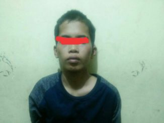 Arliana alias Angga (20) ditangkap Tim bandit Polres Gowa usai melarikan diri dari sel tahanan Polsek Pallangga.(ist)