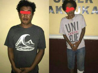 Resmob Polsek Panakkukang menangkap Residivis Curat spesialis pembobol rumah dan penadahnya.(ist)