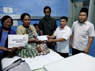 Lazismu Parepare kembali membantu warga kurang mampu di Kelurahan Ujung Lure, Kecamatan Soreang, Parepare.(ist)
