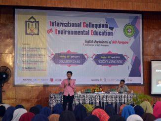 Scholarship Seminar Gelar Prodi PBI Jurusan Tarbiyah dan Adab, IAIN Parepare dengan pemateri dari Jepang dan malaysia. (ist)