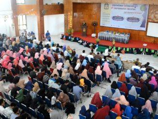 Workshop Academic Writing di Auditorium IAIN Parepare ramai peserta, Senin (30/04).(ist)