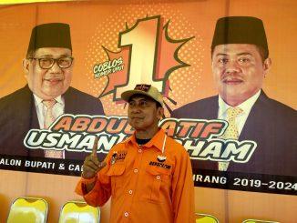 Mantan Legislator Kabupaten Pinrang dua periode, H. Abdul Kadir Mustamin.
