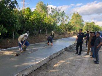 jalan beton di Pitu riase