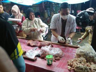 Dinas PKP Parepare Periksa Kelayakan Daging Jelang Ramadan