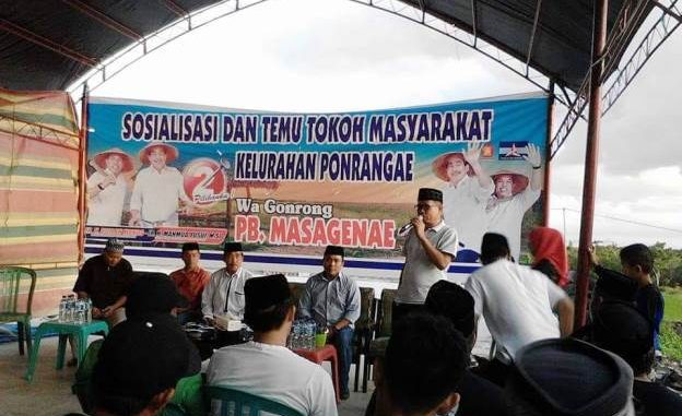 Relawan Wa Gondrong PB Masagenae Total Dukung DOAMU