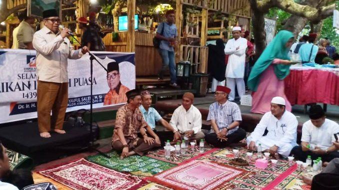 Syaiful saleh bersama rombongan FAS