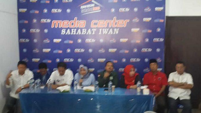 Menang Quick Count, Iwan-Alimin Ajak Kawal hingga Putusan KPU Kelar