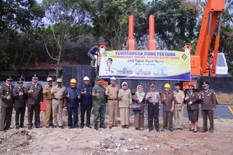 Pembangunan Menara Kantor Bupati Barru Dianggarkan Rp40 Miliar