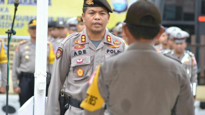 Amankan Penetapan Pilkada, Polres Sidrap Terjunkan 400 Personel