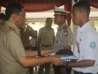 Sekda Buka Pelatihan Paskibraka Kabupaten Barru