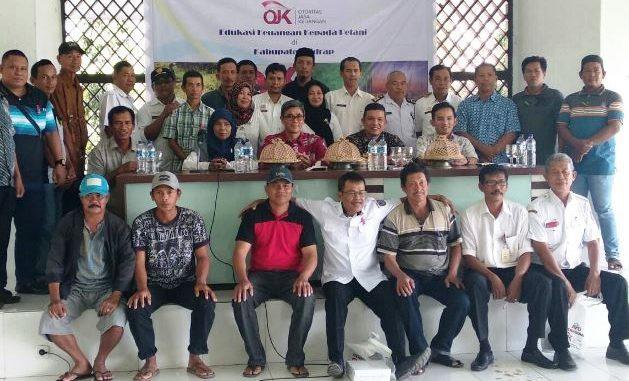 OJK Regional 6 Edukasi Keuangan Petani Sidrap