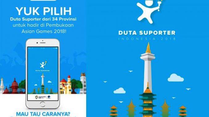 Dukung Asian Games 2018, Kominfo Luncurkan Aplikasi Duta Suporter Indonesia
