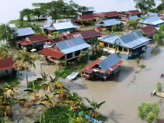 Banjir Wete'e Sidrap, Rendam 300 Rumah Warga