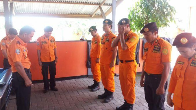 Basarnas Menuju TKP Diduga Usman Tenggelam