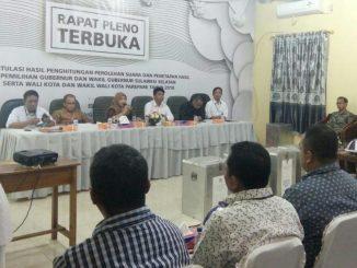 Pleno KPU Parepare