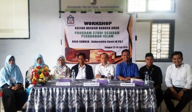 Workshop Bahasa Arab, Senjata Menelusuri Sumber-sumber Sejarah Peradaban Islam