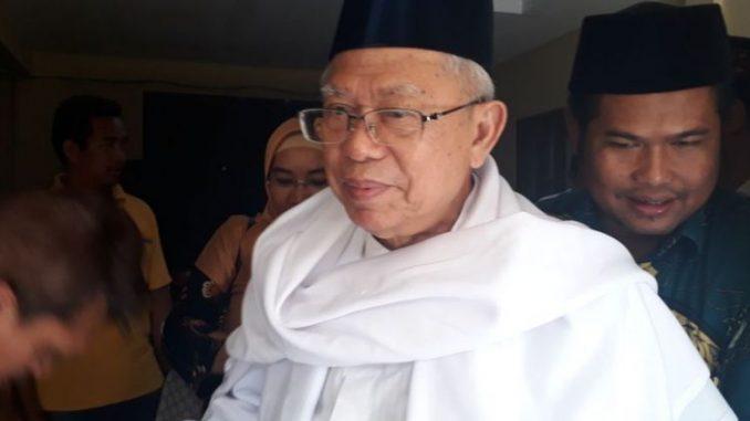 Jokowi Akhirnya Tetapkan Ma'ruf Amin sebagai Cawapres