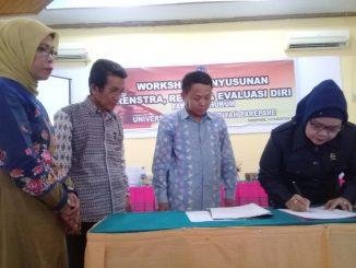 Penandatanganan kerjasama FH UM Parepare dengan pengadilan agama.