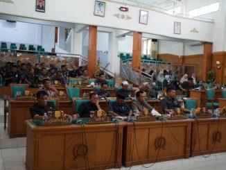DPRD Sidrap Gelar Rapat Paripurna Pandangan Umum Fraksi terhadap Dua Ranperda