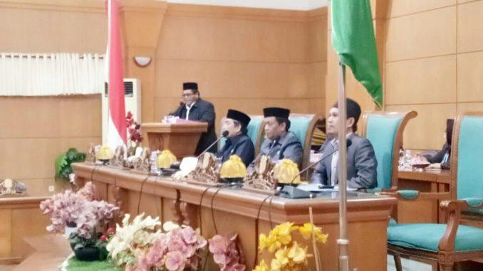 DPRD Sidrap Gelar Rapat Paripurna Terkait Pengambilan Keputusan Dua Ranperda