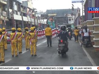 Lomba Gerak Jalan Meriahkan HUT RI Ke 73 Di Parepare