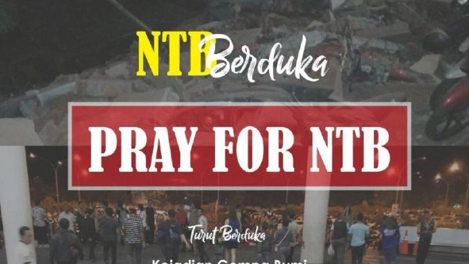 Pray for NTB, handover