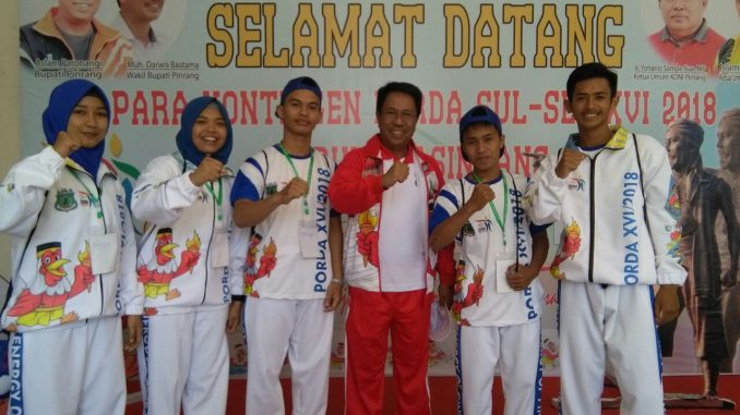 Atlet Pencak Silat Pinrang