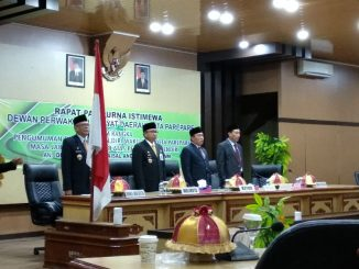 Rapat Paripurna Istimewa DPRD Parepare