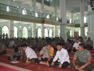 TNI-Polri Gelar Salat Istighosah, Dzikir dan Doa untuk Korban Gempa Sulteng